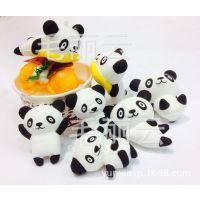仿真食玩 外单带国宝熊猫系列