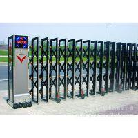 供应豪华电动伸缩门 不锈钢伸缩门 不锈钢大门 大门 电动伸缩门