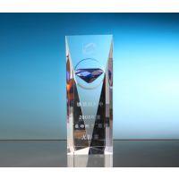 西安常规水晶奖杯图样 季度销售奖杯 优秀单位奖杯奖牌礼品定做