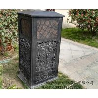无锡户外家具 舒纳和供应苏州铸铝垃圾桶 南通铸铝垃圾箱
