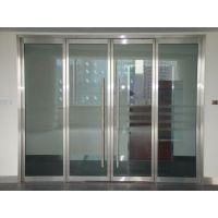 深圳哪里有定制不锈钢玻璃门 地弹簧门商家华帅玻璃门定制