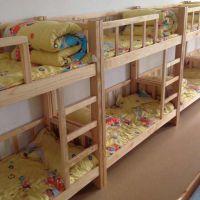 四川幼儿园床实木幼儿园家具