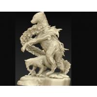 全国3d打印模型库狼绘图雕塑STL格式模型-光神王市场