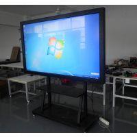 55寸落地立式移动支架带轮子 教学电脑触控一体机查询机广告机