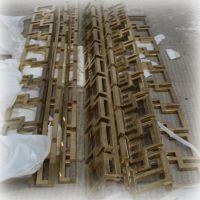 厂家定制不锈钢玫瑰金异形件 各种异形配件加工
