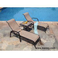 馨宁居特斯林铸铝躺椅,桑拿健身家具,室内泳池家具
