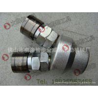台湾欧维尔高档C式圆两通接头 两叉式气管快速接头 快插