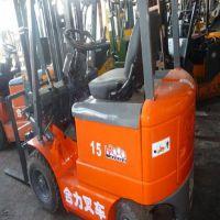 潍坊|烟台二手电动叉车,合力电瓶叉车,1.5吨二手叉车 免费送货