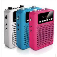 代理批发 飞利浦便携式插卡音箱扩音器SBM150 FM电台 SD卡播放