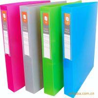 供应PP透明A4金属文件夹 塑料文件夹定制 PVC办公资料夹 文件夹
