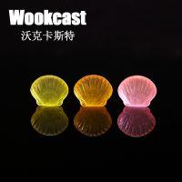 【Wookcast】酒店一次性用品小贝壳香皂宾馆透明肥皂洗手皂批发