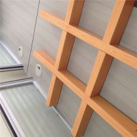 广东铝格栅厂家供应厂房吊顶装修铝格栅材料
