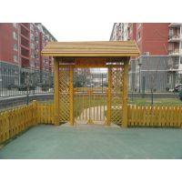 恒丰通防腐木加工厂承接 防腐木户外木质景观工程安装