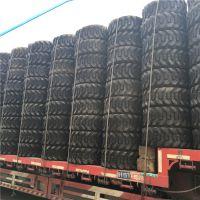 供应前进大力士小型滑移装载机工程机械轮胎人字花纹10-16.5