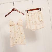 日本原单吊带公主蕾丝睡裙性感睡衣套装外贸家居服两件套女夏