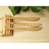 小资格调 西式竹制餐具 水果竹刀 月饼刀 水果刀 绿色环保