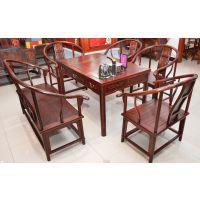 供应黑酸枝茶桌茶椅系列 厂家销售 有意者欢迎咨询选购