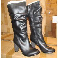 欧美真皮女靴鞋厂 专做外贸时尚女鞋工厂 来样打版定制高跟鞋厂