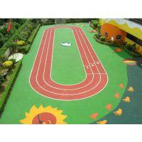 南宁幼儿园EPDM塑胶跑道施工,南宁专业铺设幼儿园塑胶操场公司