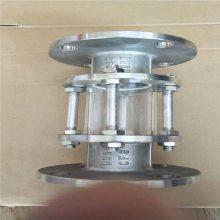 供应DN100*5碳钢法兰式视镜厂家