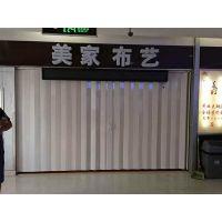 重庆塑料折叠门PVC折叠门推拉门
