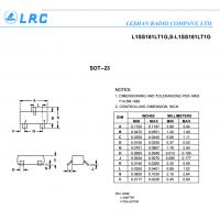 LRC开关二极管L1SS181LT1G