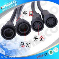 供应 LED防水插头 端子连接器 接线端子连接头 防水连接器