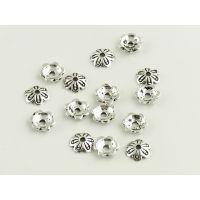 DIYS925银隔珠配件加工生产批发 珠宝首饰来图来样加工定制工厂