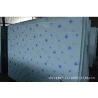 供应橱柜彩晶玻璃/立体玻璃/丝印玻璃/冰花玻璃/透光背景墙玻璃