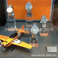 亚克力手表首饰展示架展台/压克力高透明有机玻璃手表展示箱