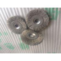 一方天地制刷厂供应不锈钢丝钢丝轮 优质钢丝轮定制