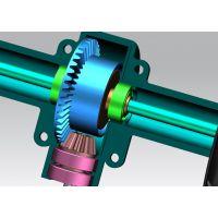 圆锥齿轮传动设计_塑胶小模数圆锥齿轮设计制造生产