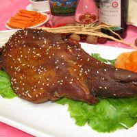 大连厂家批发内蒙古呼伦贝尔羊腿 清真 羔羊肉 新鲜羊腿烧烤食材