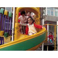 青岛儿童滑滑梯厂国内专利正品攀爬架滑梯组合进口ABS环保塑料框架式结构设计稳固有加滑滑梯施工滑滑梯
