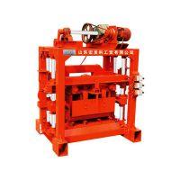 山东宏发QT4-40B2型砌块成型机 值得信赖的砖机