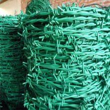 旺来刺绳 铁蒺藜 包塑刺绳