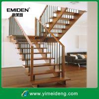 供应室内整体全实木楼梯YMD-1019