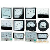 供应指针式6L2交直流电流测量仪表安装式板表,电压表,频率表,