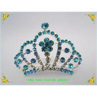 豪华水晶皇冠发梳 结婚饰品 新娘头饰 婚礼发饰厂家批发 外贸出口