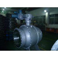 厂家供应高压硬密封电动球阀铸钢球阀 Q947H-25C DN500