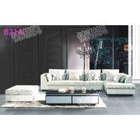 厂家直销布艺沙发组合现代客厅转角简约休闲小户型布沙发家具批发