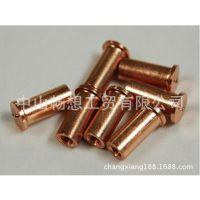 江门种焊螺柱 碰焊螺柱 不锈钢压铆螺柱 FEM镀铜焊接螺柱