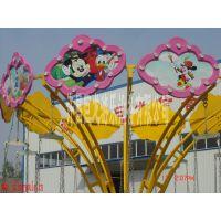 """河南巨龙厂家供应""""迷你小飞椅""""旋转12座公园儿童游乐设备"""