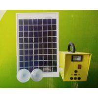 7AH太阳能发电机组 家用小型10w太阳能发电机 10w太阳能发电系统
