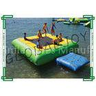 6m x 5m Inflatable Water Games Floating Water Trampoline with Ramp