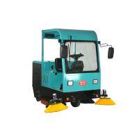 路面环卫吸尘车 KL-1900小型驾驶式电动扫地车