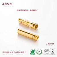 4.0mm公母香蕉金插规格,公母端子插拔力标准供应 宝东