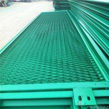 红色钢板网 钢板网加工定做 无锡刷漆护栏