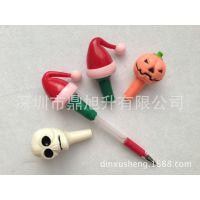 软胶笔头套 玩具笔套系列 带闪光 笔配件 厂家直销 发光圣玩具