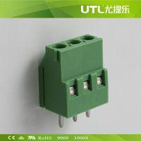 插拔式 MU2.5H5.0(5.08) PCB印刷电路板端子 大电流接线端子